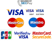 secure shopping & credit card payments